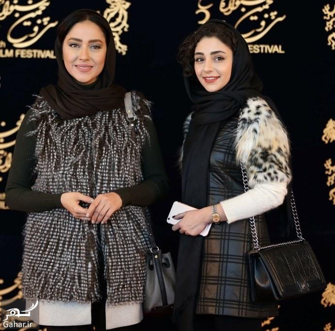 baharehkianafsharandhastimahdavifarcomedyensani35fajr1 عکس های هنرمندان در نشست فیلم های روز نهم جشنواره فجر 35