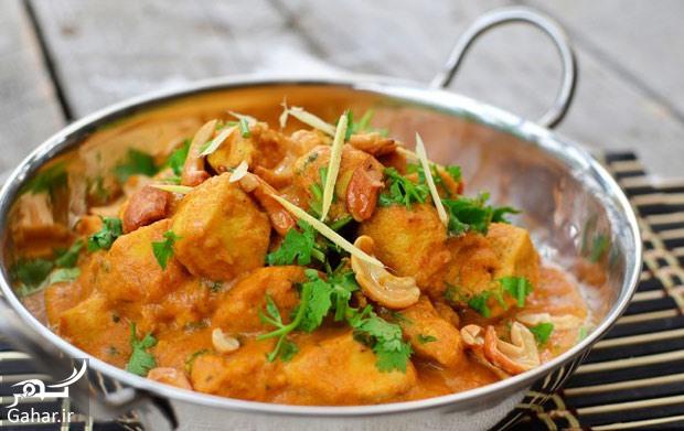 crema chicken دستور تهیه غذای هندی کرما چیکن