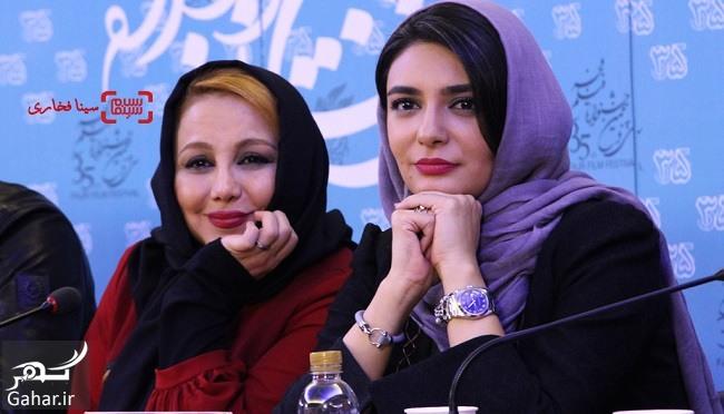 عکسهای بازیگران در نشست فیلم انزوا در جشنواره فیلم فجر ۹۵, جدید 1400 -گهر