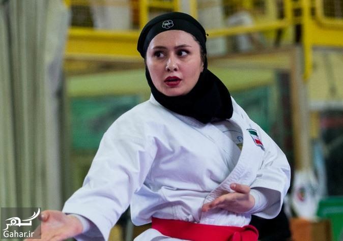 karate banovan عکس های مسابقات انتخابی تیم ملی کاراته بانوان