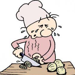 راه حل های مشکل اشک ریختن هنگام خرد کردن پیاز