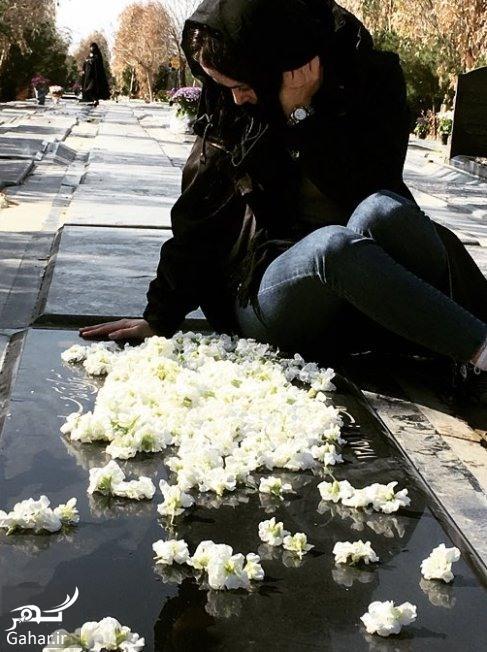 الناز حبیبی دیدار الناز حبیبی با مادرش + عکس