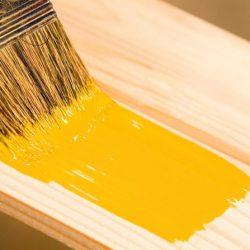 آموزش رنگ آمیزی وسایل چوبی منزل