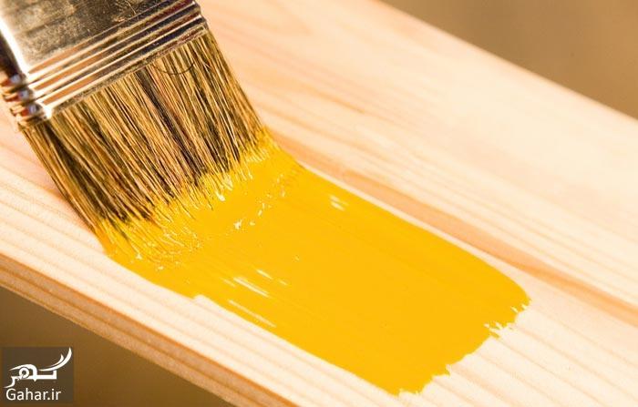 رنگ آمیزی وسایل چوبی آموزش رنگ آمیزی وسایل چوبی منزل