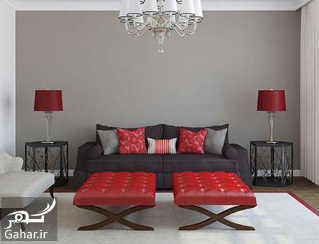 رنگ قرمز در دکوراسیون نکات جالب در مورد رنگ قرمز در دکوراسیون منزل