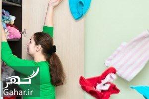 مرتب کردن کمد گام های اساسی برای مرتب کردن کمد در خانه تکانی