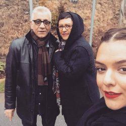 عکس/ رویا تیموریان در کنار همسر و دخترانش