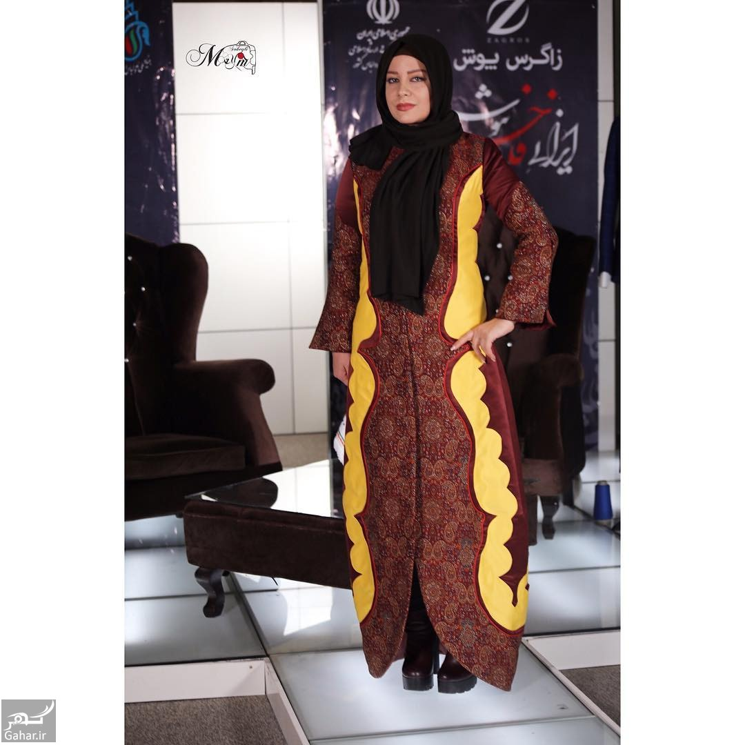 BRDMzQ4jtFn لباس متفاوت شراره رخام در جشنواره مد و لباس + عکس