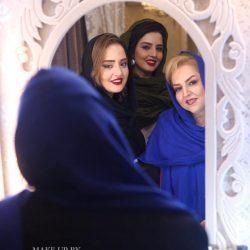 عکس جذاب و دیدنی نرگس محمدی به همراه مادر و خواهرش
