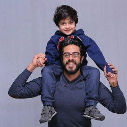 عکسی دیدنی از پسران زنده یاد خسرو شکیبایی و شهاب حسینی