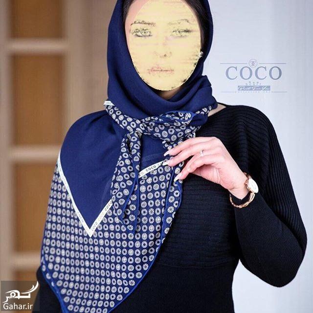 coco instagram shal مدل جدید روسری و شال عید 96
