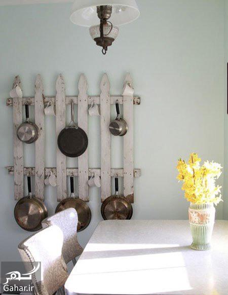 آشپزخانه های کوچک روش های جا دادن قابلمه و ماهی تابه در آشپزخانه های کوچک