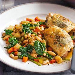 طرز تهیه خوراک مرغ تند غذای کم کالری