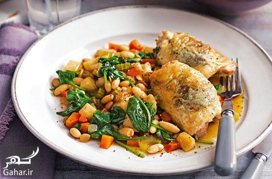 خوراک مرغ تند طرز تهیه خوراک مرغ تند غذای کم کالری