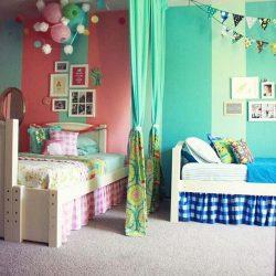 دکوراسیون اتاق مشترک فرزندان در خانه های کوچک