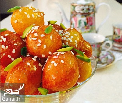 طرز تهیه لگیمات طرز تهیه لگیمات یا لیقمات شیرینی بوشهری