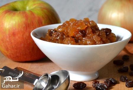 طرز تهیه مربا سیب 1 طرز تهیه مربا سیب و کشمش