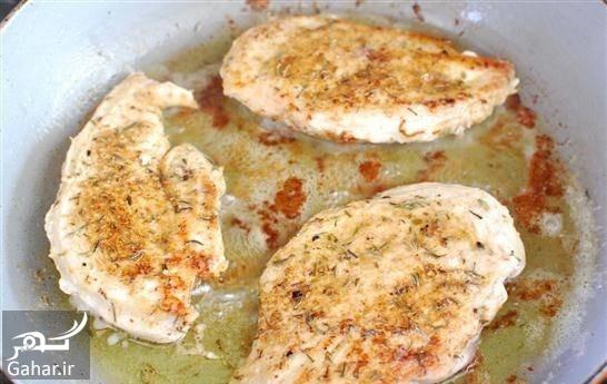 مرغ سرخ شده دستور تهیه مرغ سرخ شده با لیمو عمانی