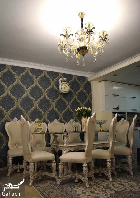 کاغذ دیواری باید کل خانه را کاغذ دیواری کرد یا فقط قسمتی از خانه؟