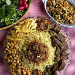 دستور تهیه گبولی گوشت غذای محلی