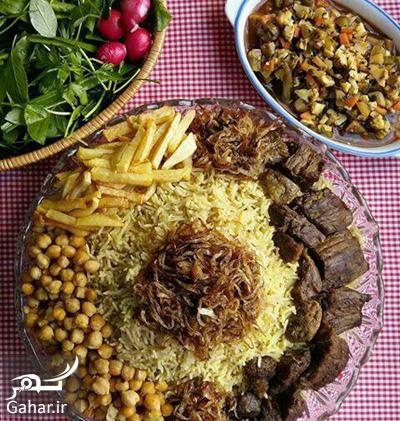 گبولی گوشت دستور تهیه گبولی گوشت غذای محلی