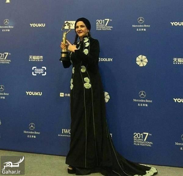 گلاب آدینه گلاب آدینه بهترین بازیگر زن در جشنواره پکن شد