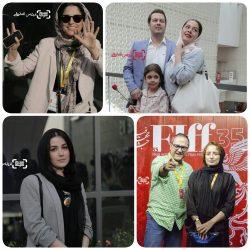 عکس های جدید هنرمندان در سی و پنجمین جشنواره جهانی فیلم فجر