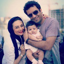 عکس دیدنی منوچهر هادی و یکتا ناصر در کنار دخترشان