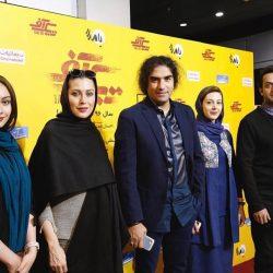 بازیگران در اکران مردمی فیلم «تیک آف» + عکس