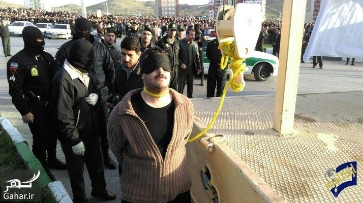 edam arak اجرای حکم اعدام مردی که 6 نفر را در اراک کشت ؛ عکس