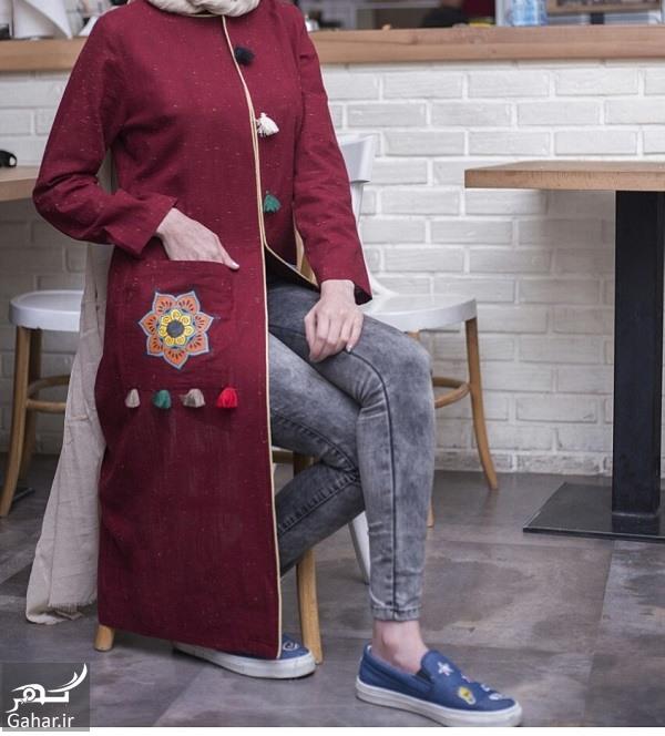 manto jadid 96 مدل جدید مانتو دخترانه و زنانه طرح سنتی بهار 96