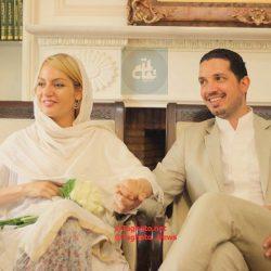 عکس های متفاوت مهناز افشار و همسرش در مراسم اکران «نهنگ عنبر ۲»