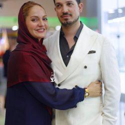 عکس های مهناز افشار و همسرش در اکران خصوصی «نهنگ عنبر»