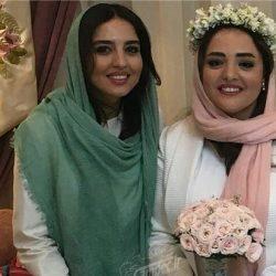 عکس های مراسم عقد نرگس محمدی در کنار خواهرش