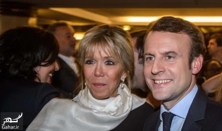 Hamsare emanoel درباره همسر رئیس جمهور جدید فرانسه با 25 سال اختلاف سنی ؛ عکس
