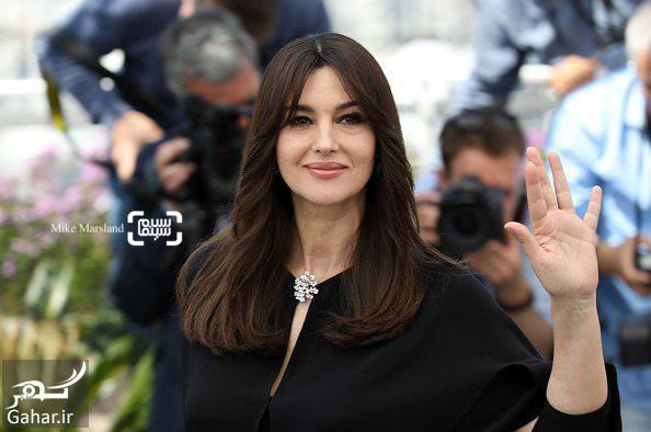 MonicaBellucci عکسهای مونیکا بلوچی در افتتاحیه جشنواره فیلم کن 2017