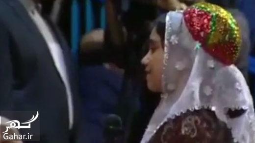 baran rohani فیلم باران دختر مشهدی در تمجید از رئیس جمهور و اشکهای روحانی