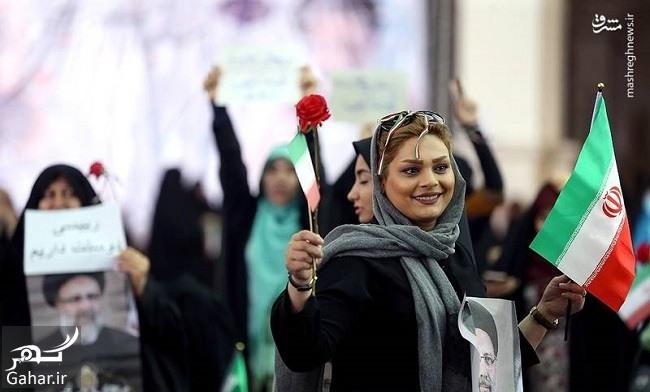 hami reisi عکس های همایش حامیان رئیسی در مصلی تهران