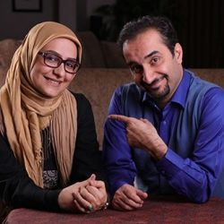 نیما کرمی و همسرش مجری ویژه برنامه ماه رمضان شبکه یک