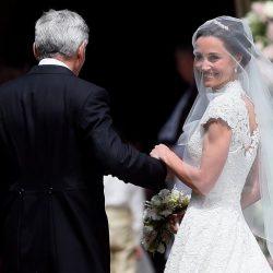 عکس های مراسم عروسی پیپا میدلتون و جیمز متیوز