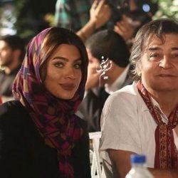 رضا رویگری و همسر جوانش تارا کریمی در رستوران ؛ عکس