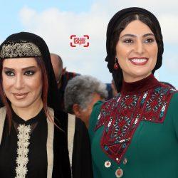 عکس/ چهره متفاوت سودابه بیضایی و نسیم ادبی در جشنواره فیلم کن