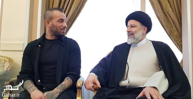 tataloo reisi دیدار امیر تتلو با رئیسی + عکس و فیلم