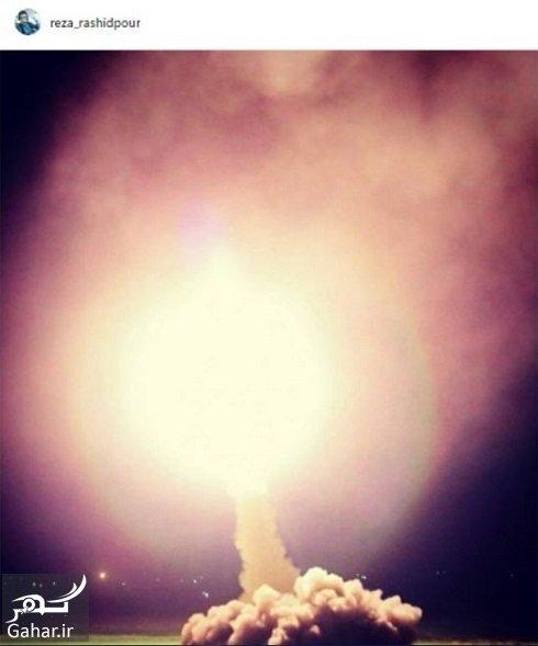 رضا رشیدپور 1 واکنش رضا رشیدپور به حمله موشکی سپاه به داعش