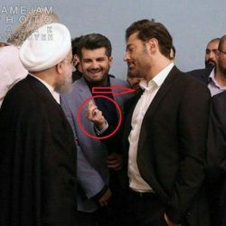 پاسخ محمدرضا گلزار در مورد عکسش با رئیس جمهور