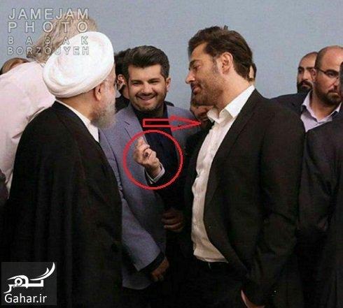 محمدرضا گلزار پاسخ محمدرضا گلزار در مورد عکسش با رئیس جمهور