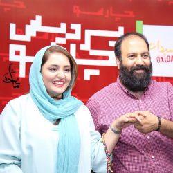 عکس های متفاوت نرگس محمدی و همسرش در اکران مردمی فیلم اکسیدان