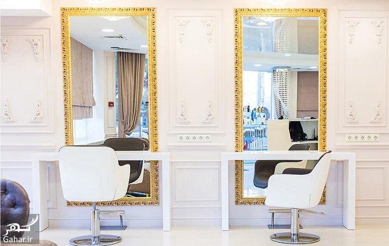 Beauty salon decoration دکوراسیون آرایشگاه زنانه فوق العاده زیبا و مدرن + جزییات