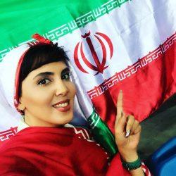عکس های لیلا بلوکات تماشاگر ویژه بازیهای والیبال ایران