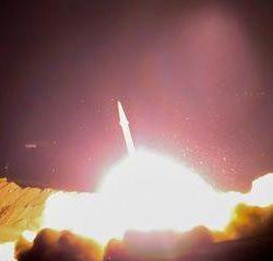 فیلم/ شلیک موشک های سپاه پاسداران به مواضع تروریستها از کرمانشاه